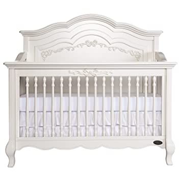 Amazon Com Evolur Aurora 5 In 1 Convertible Crib Ivory Lace Baby