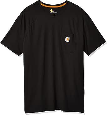 Carhartt Force Cotton Delmont Short-Sleeve T-Shirt Camiseta de Manga Corta para Hombre