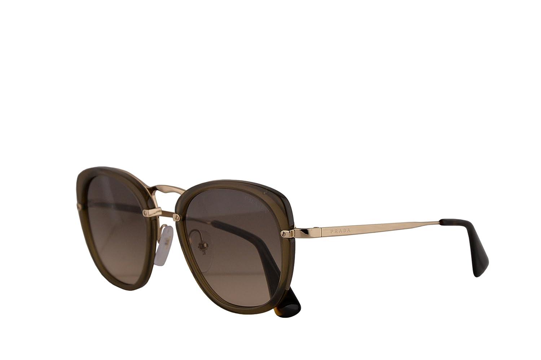 Amazon.com: Prada PR58US - Gafas de sol, color marrón y gris ...