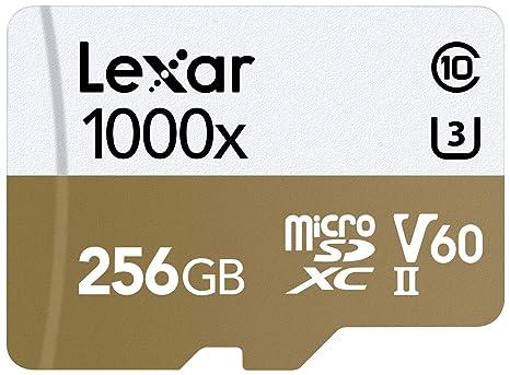 Lexar Professional 1000x 256GB microSDXC UHS-II Card