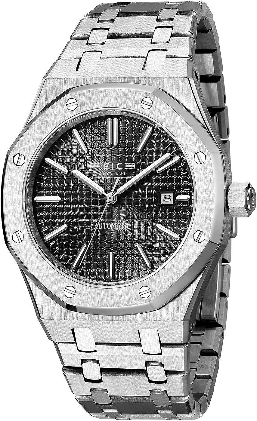 FEICE Men's Automatic Mechanical Watch Dress Watches for Men Waterproof Sports Wristwatch -FM019