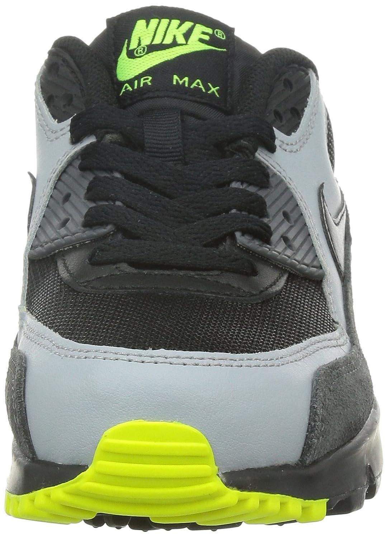 new arrival a0c22 575d2 Nike Junge, Sportschuhe, air max 90 mesh (gs), schwarz (Black/Black-Wolf  Grey-drk Grey), 37.5: Amazon.de: Schuhe & Handtaschen