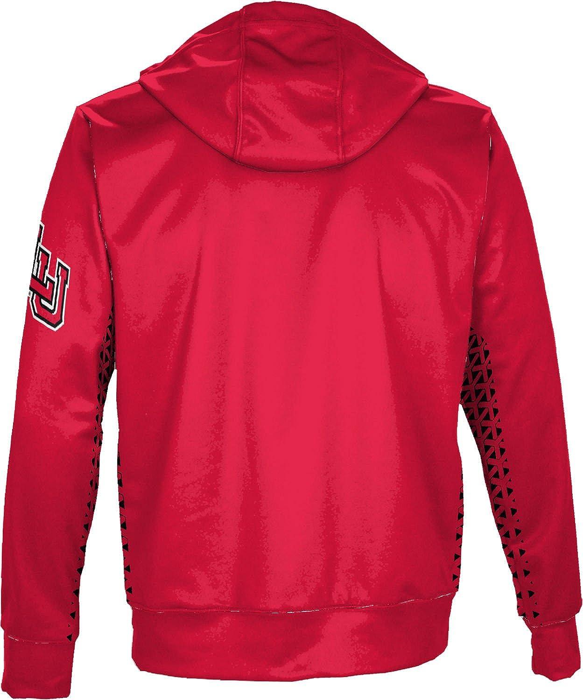 School Spirit Sweatshirt Geo ProSphere Lamar University Mens Pullover Hoodie