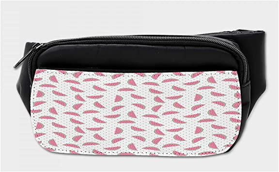 Watermelon Painting Sport Waist Pack Fanny Pack Adjustable For Travel