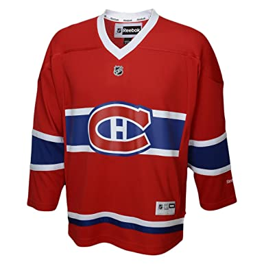 detailed pictures ea7b6 784b9 Montreal Canadiens 2015-16 Reebok Child Replica (4-6X) Home NHL Hockey  Jersey - Size Child (4-6X)