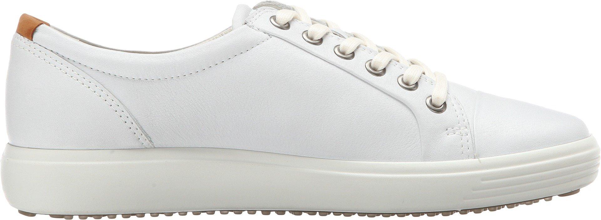 ECCO Footwear Womens Soft VII Fashion Sneaker, White, 37 EU/6-6.5 M US by ECCO (Image #3)