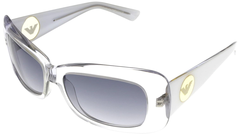 Emporio Armani Sunglasses Womens EA9454S QOELF White Crystal