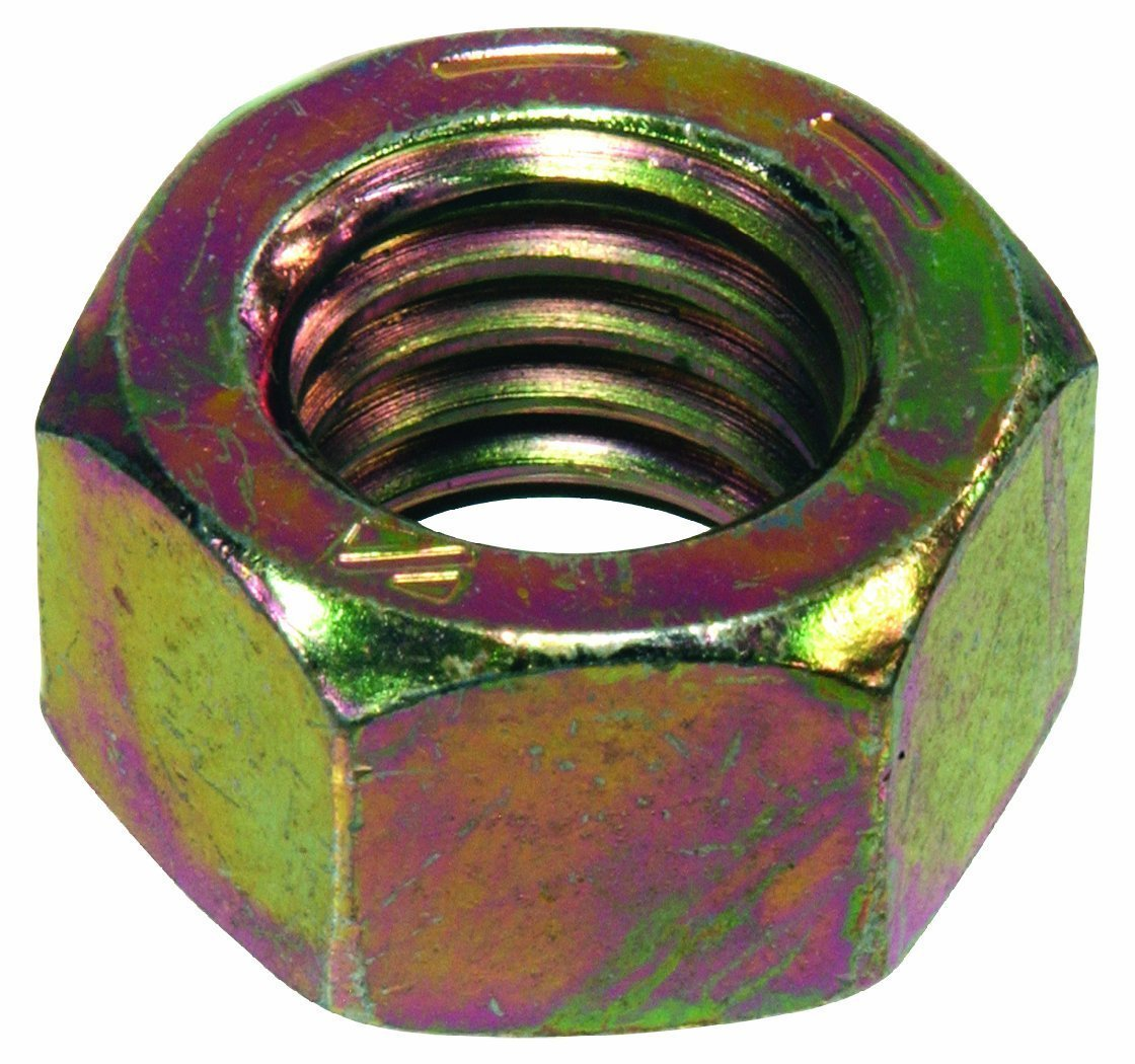 The Hillman Group 180412 Grade 8 Hex Nut 1//2-Inch by 13-Inch 50-Pack
