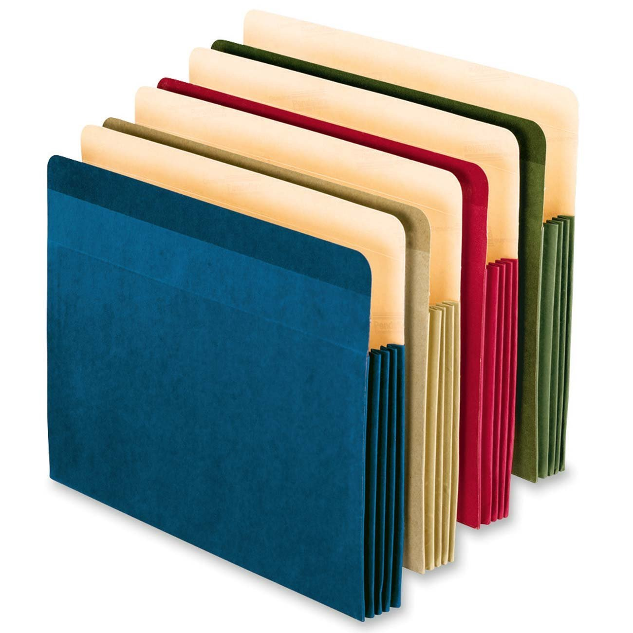 Generic Recycled Colored File Pocket, Letter Size, Assorted