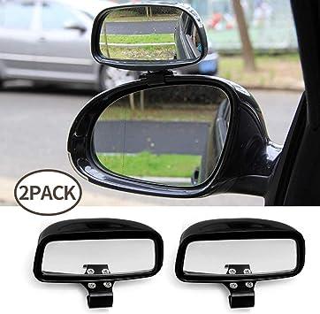 DYBANP Sopracciglio Pioggia per Auto C5 2000-2020 per Citroen C3 specchietto retrovisore per Auto Adesivi per Sopracciglia Pioggia Copertura Antipioggia C4