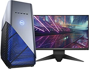 Dell Inspiron ID5680_i7m81128G1060W10s_119 Desktop, Intel Core i7-8700, 8GB RAM, 1TB HDD + 128GB SSD, Gráficos NVIDIA GTX 1060, Windows 10 (Bundle con Monitor Alienware)