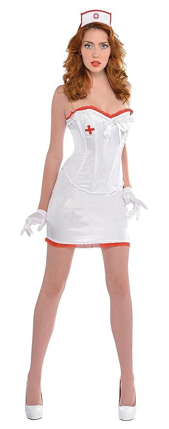 Amscan - 999 721 - Disfraz - Enfermera Sexy - Tamaño 42-44 ...