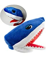 Maskimals Plush Head Halloween Costume, Blue Shark
