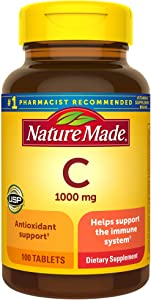 Nature Made, Vitamin C 1000 mg, 100 Tablets