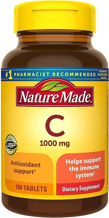Nature Made, Vitamin C 1000 mg, 100 Tablets