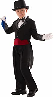 Amazon.com  Deluxe Black Magician Butler Formal Costume Top Hat ... 37e246b23e01