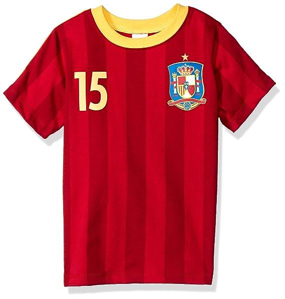 ea6b00bd17c85 BC Collection Playera España Jersey H3270B  Amazon.com.mx  Ropa ...