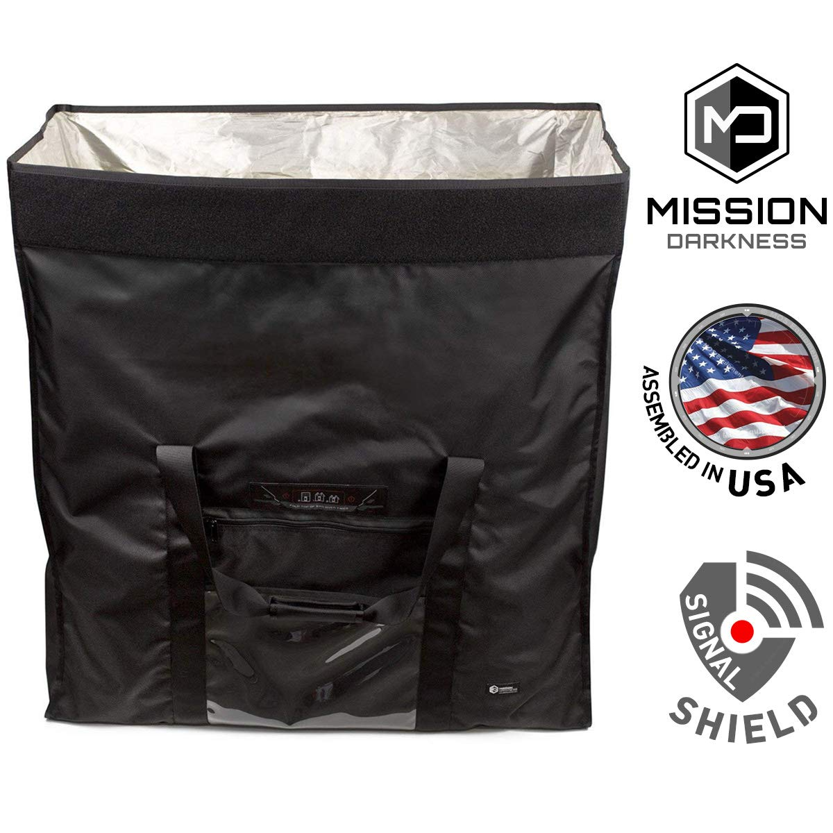 Mission Darkness Revelation EMP Shield for Generators and Extra-Large Electronics. Military-Grade Faraday Bag Designed for EMP/CME Protection, Forensic Investigators, preppers, and Personal Security by Mission Darkness (Image #1)
