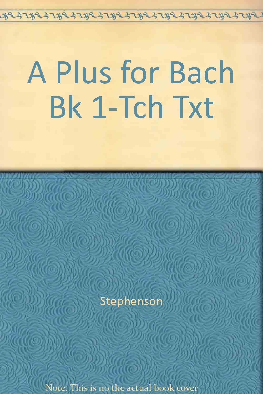 A PLUS BACH. TEACHER BOOK 1 pdf