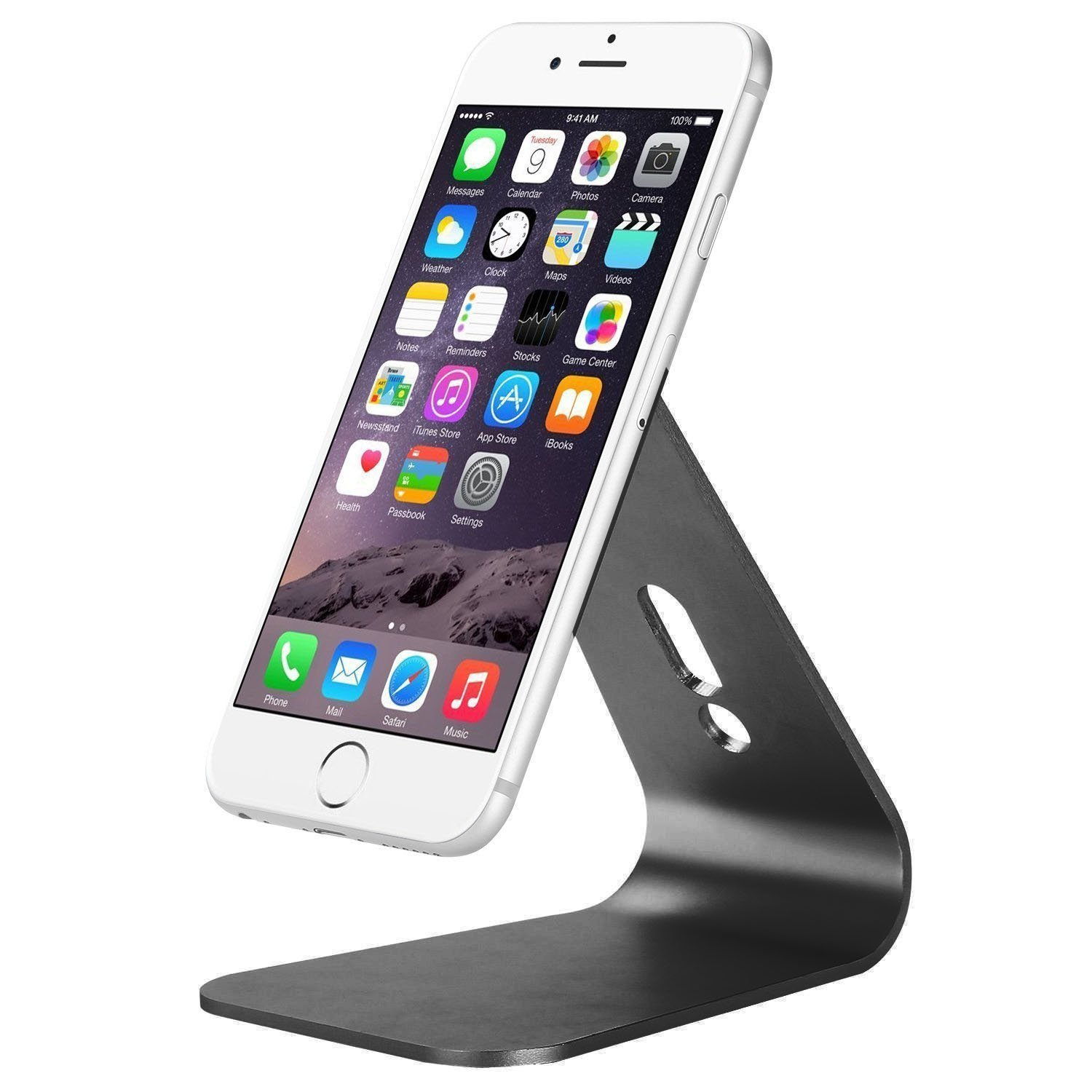 universal aluminum holder cellphone for iphone ebook stand tablet kindle products mobile metal desk phone