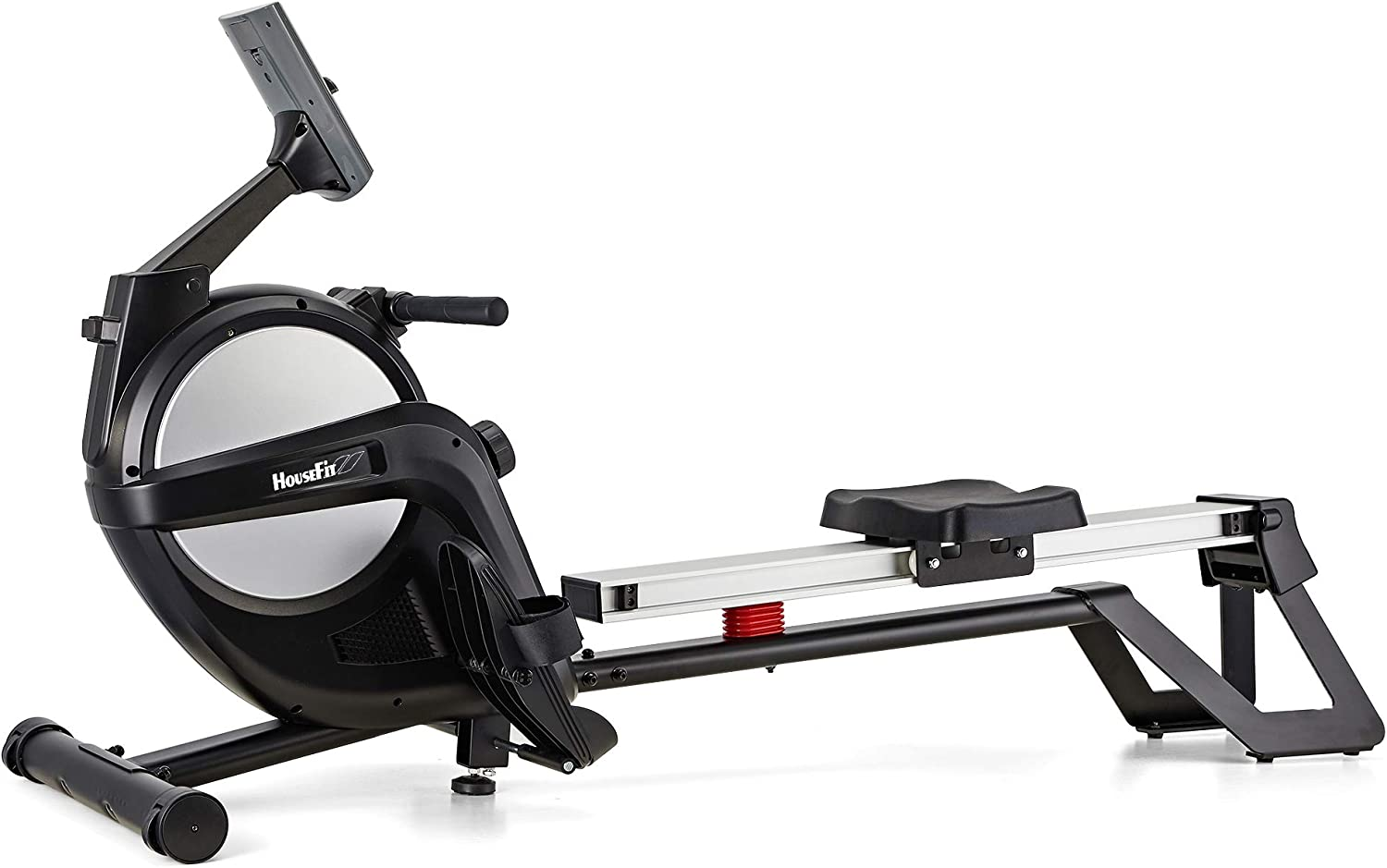 HouseFit Rowing Machine 300Lbs Weight Capacity for Home use 15-Level Magnetic Resistance Row Machine Exercise with LCD Display