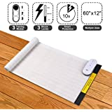 """Pet Shock Mat - 60""""x12"""" Pet Training Mat for Cats & Dogs, 3 Training Modes Pet Shock Pad, Indoor Use Dogs & Cats Training Mat for Sofa w/ LED Indicator, Intelligent Safety Protect, Long Battery Life"""