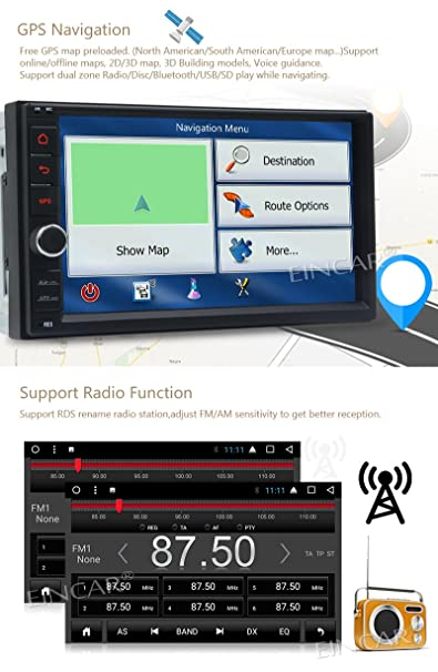 Amazon.com: Newest 8-Core Android 7.1 Car Stereo with 7