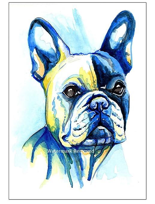 BullDog francés Imán para nevera regalo - toro perro calcetín de ...