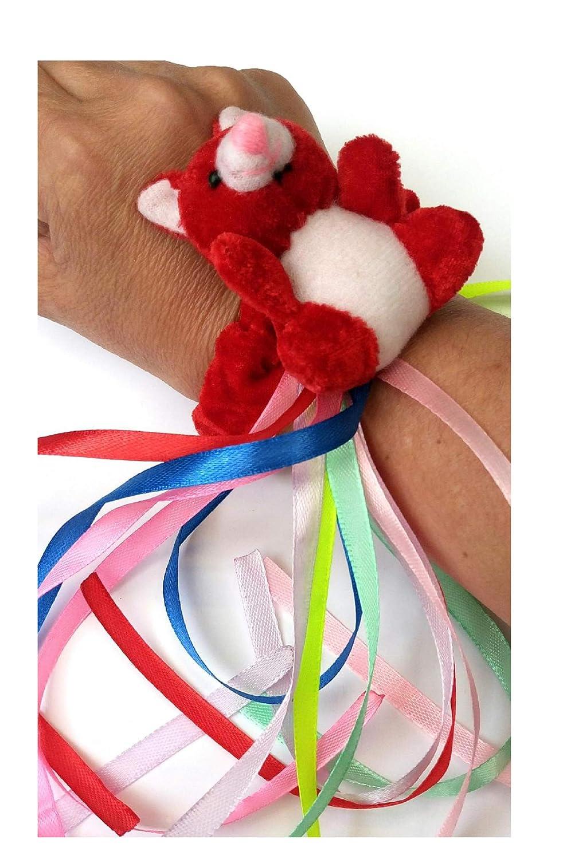 Pulsera de oso rojo - actividades sensoriales para personas ...