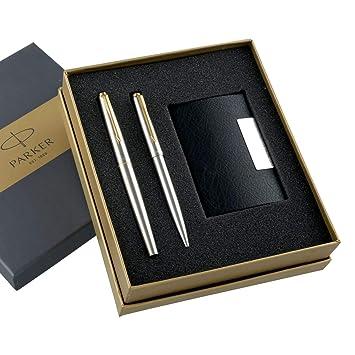 Parker Pen Case Black Pen Wallet Holder With Parker Logo