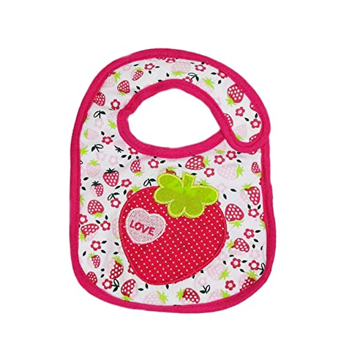 Amazon.com: Chitop Baby Bibs Bandana 100% Cotton Babadores Burp ...
