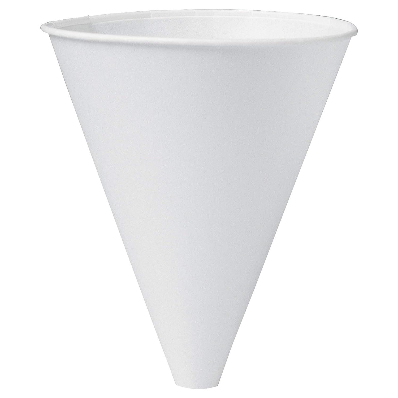 Solo 10BFC-2050 10 oz White Paper Cone Cups (Case of 1000)