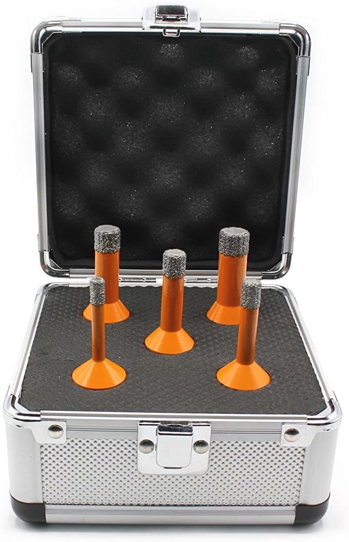 6 Pcs 6mm-14mm M14 Diamantbohrer Diamantbohrkrone Fliesenbohrer Winkelschleifer