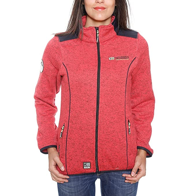 Geographical Norway Giacca in Pile Terracota Lady 7 Corallo S M  Amazon.it   Abbigliamento 134bdc638c4