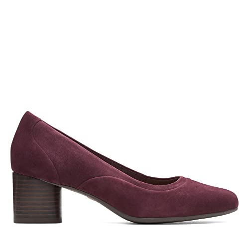 f39257dca465 Clarks Un Cosmo Step Suede Shoes in Purple  Amazon.co.uk  Shoes   Bags