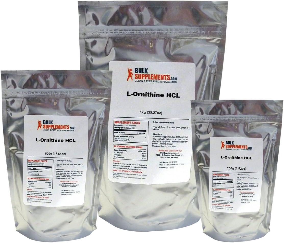 BulkSupplements L-Ornithine HCL Powder 25 kilograms