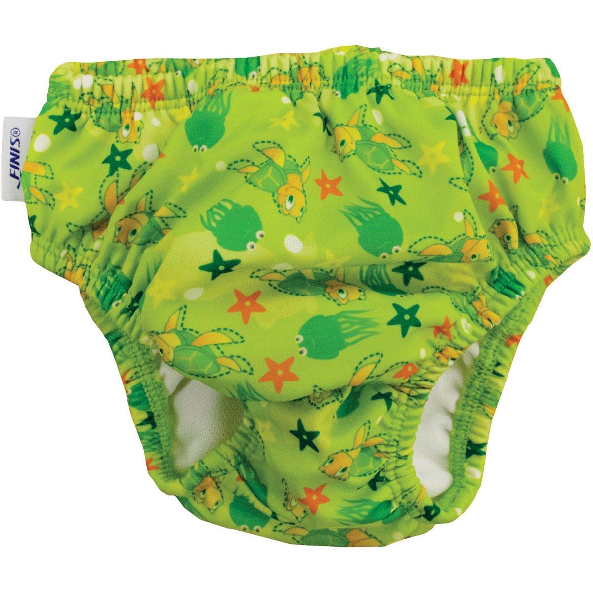 Turtle Green, Medium FINIS Swim Diaper