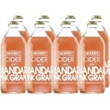 Smirnoff Cider Mandarin and Pink Grapefruit Cider, 500 ml (Case of 8)