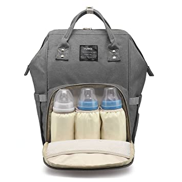 6f164651b2 Amazon.com   Diaper Bag Backpack Multi-Function Waterproof Travel Nappy Bag  for Baby Care