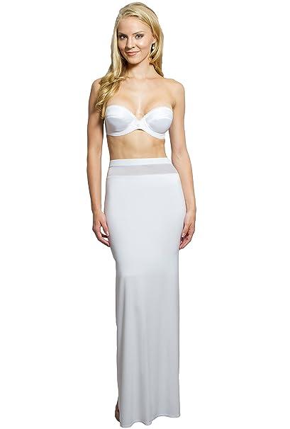 Adelgazamiento para mujer Slip para mujer Evening vestidos y playa bodas – no Sheer - negro