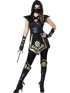 Amazon.com: InCharacter Ninja Warrioress Womens Costume ...