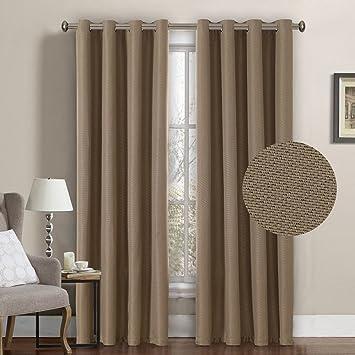 Amazon.com: H.VERSAILTEX Room Darkening Thermal Insulated Textured ...