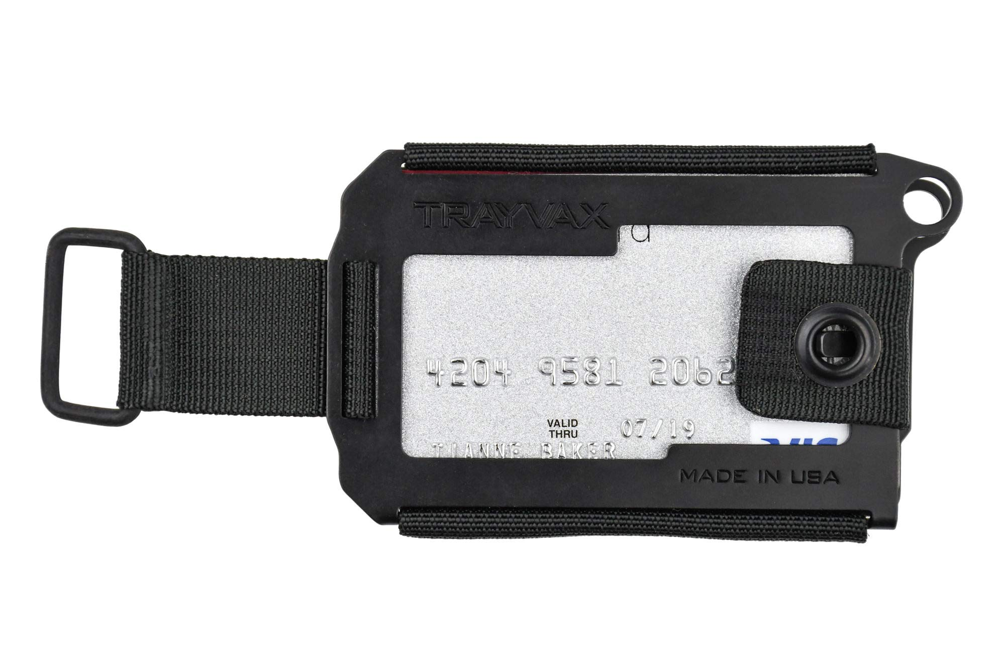 Trayvax Axis Wallet (Black)