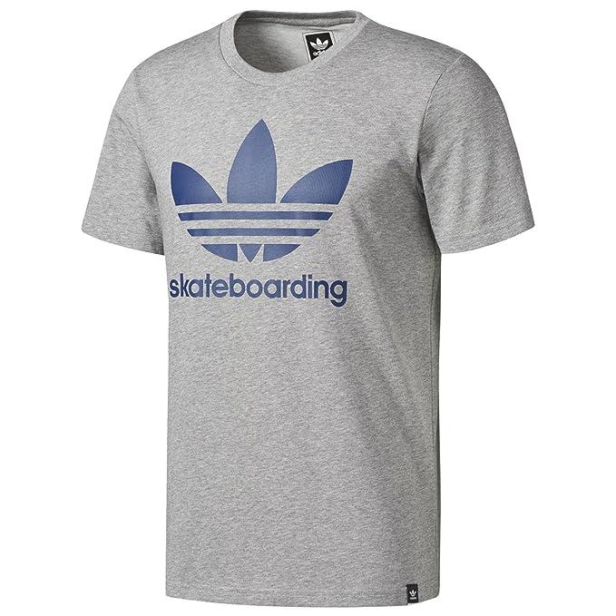 adidas Originals Camiseta - Para Hombre Gris Gris X-Large