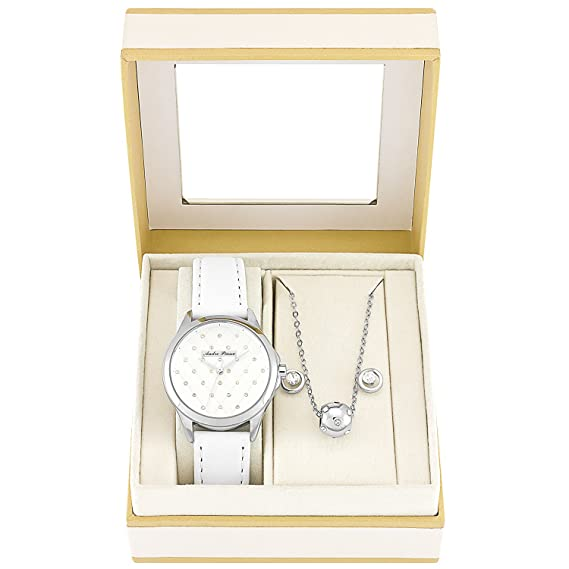Andre Piasso Reloj apx4529l08 Set de regalo joyas mujer