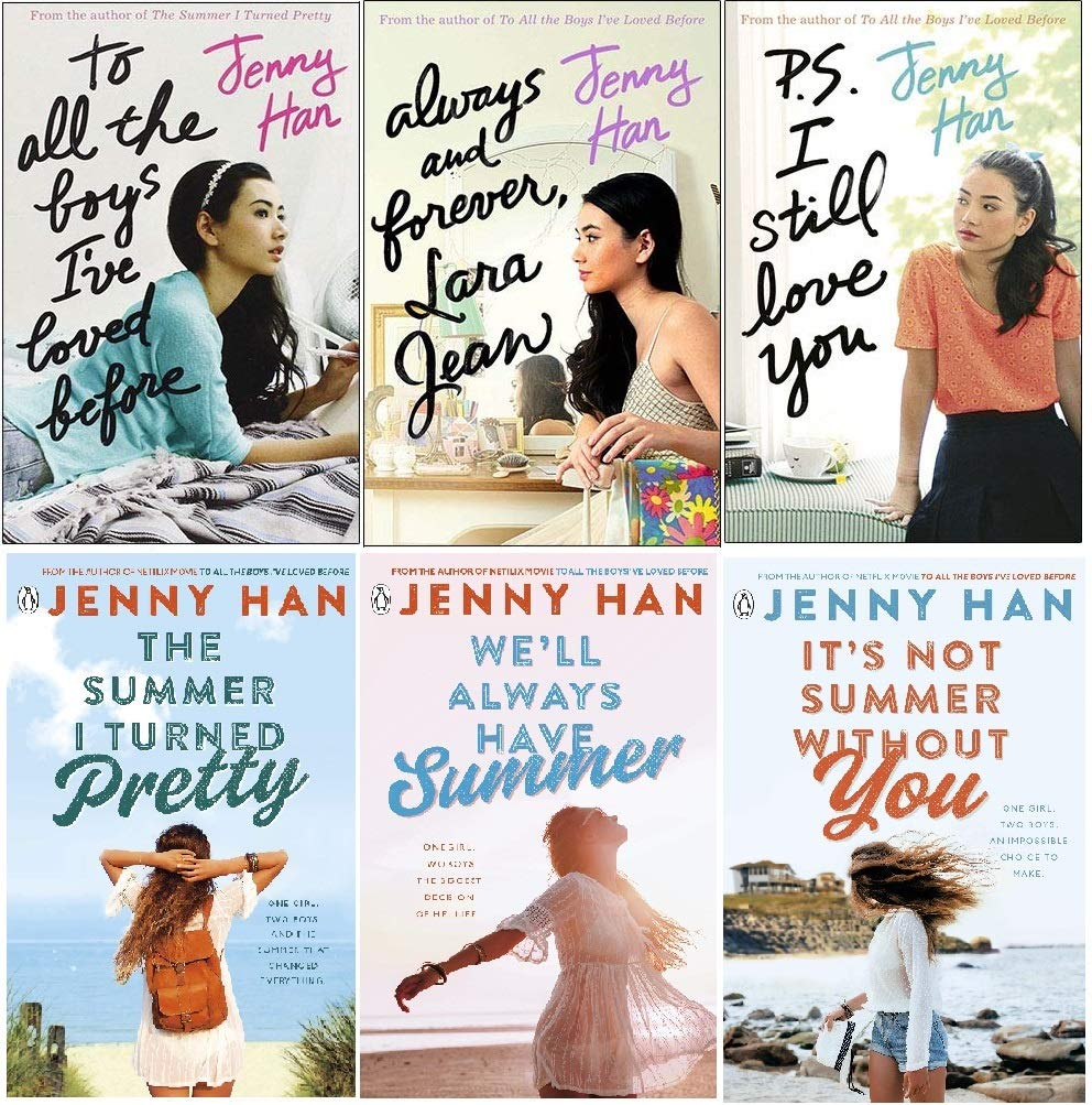 Jenny Han To All The Boys I Ve Loved Trilogy And The Summer I Turned Pretty Trilogy 6 Books Set Collection Amazon Co Uk Jenny Han 9789526537535 Books