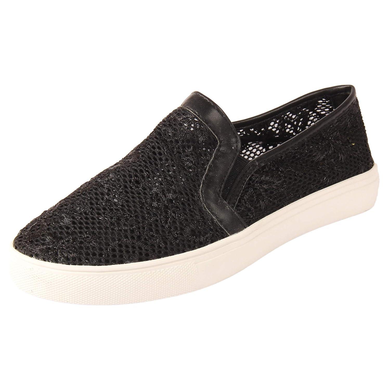 SHOE LOUNGE Women Black Sneakers UK