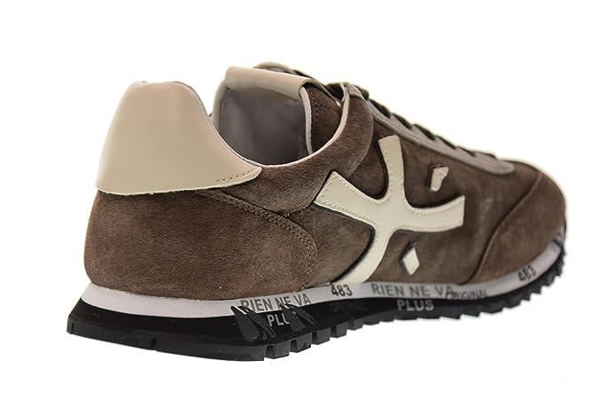 PREMIATA Scarpe Uomo Sneakers Basse Mat 2302 Marrone Taglia 45 Marrone   Amazon.it  Scarpe e borse ccd68d32d60