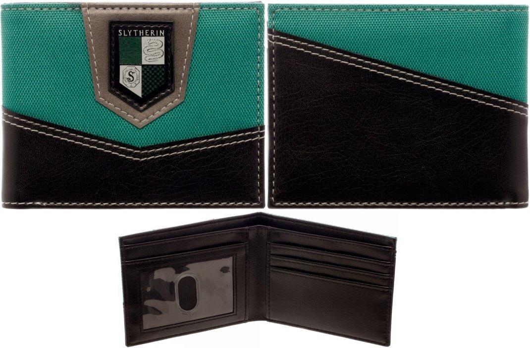 Harry Potter Slytherin Bi-Fold Wallet BioWorld MW3LJAHPT