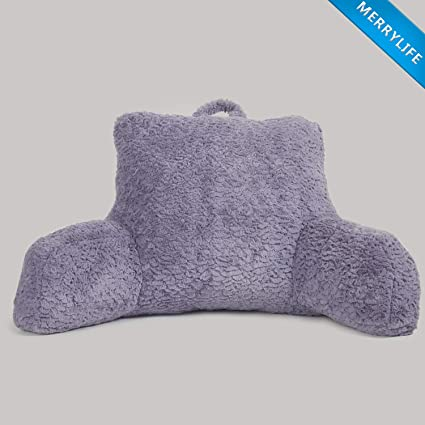 MERRYLIFE Backrest Pillow with Arms